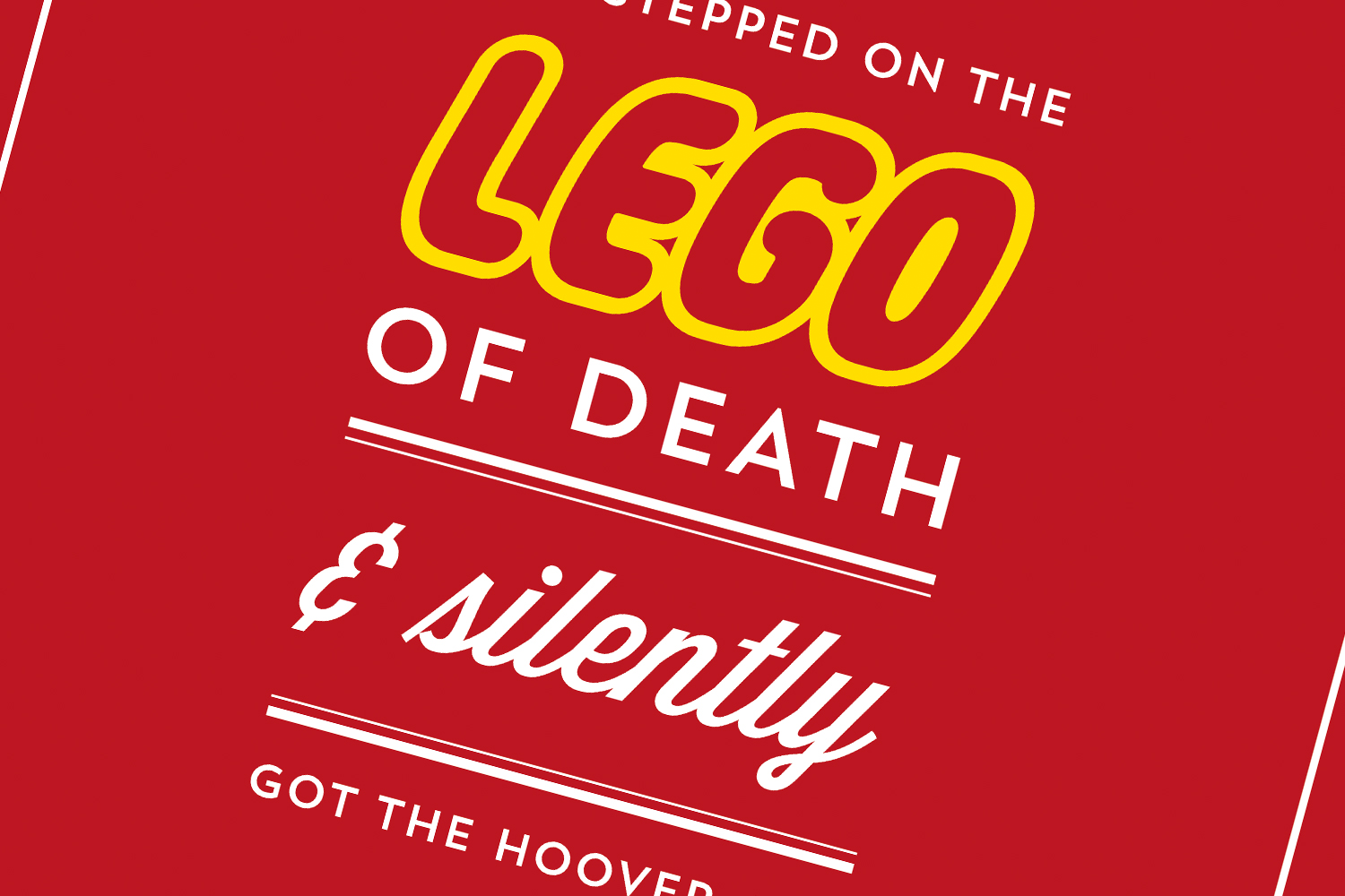 The Lego of Death – FREE PRINTABLE