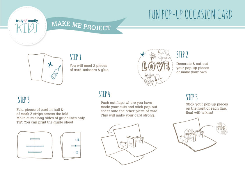 How To Make Pop Up Cards For Mothers Day