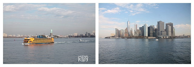 Statue of liberty, USA, NYC, New York, travelling with kids, staten island ferry, family holidays in New York City