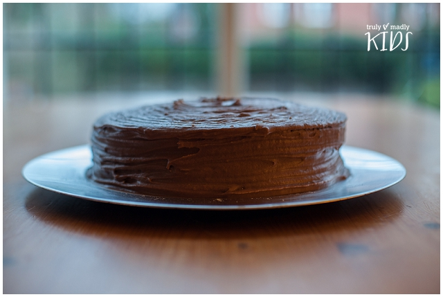 Devil's Food Cake, Truly Madly Kids, National Chocolate Cake Day, chocolate pudding, chocolate dessert, pudding, dessert, chocolate celebration cake