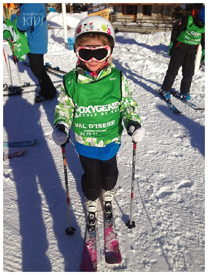 oxygene ski school, val d'isere ski school, travel with kids, skiing with kids
