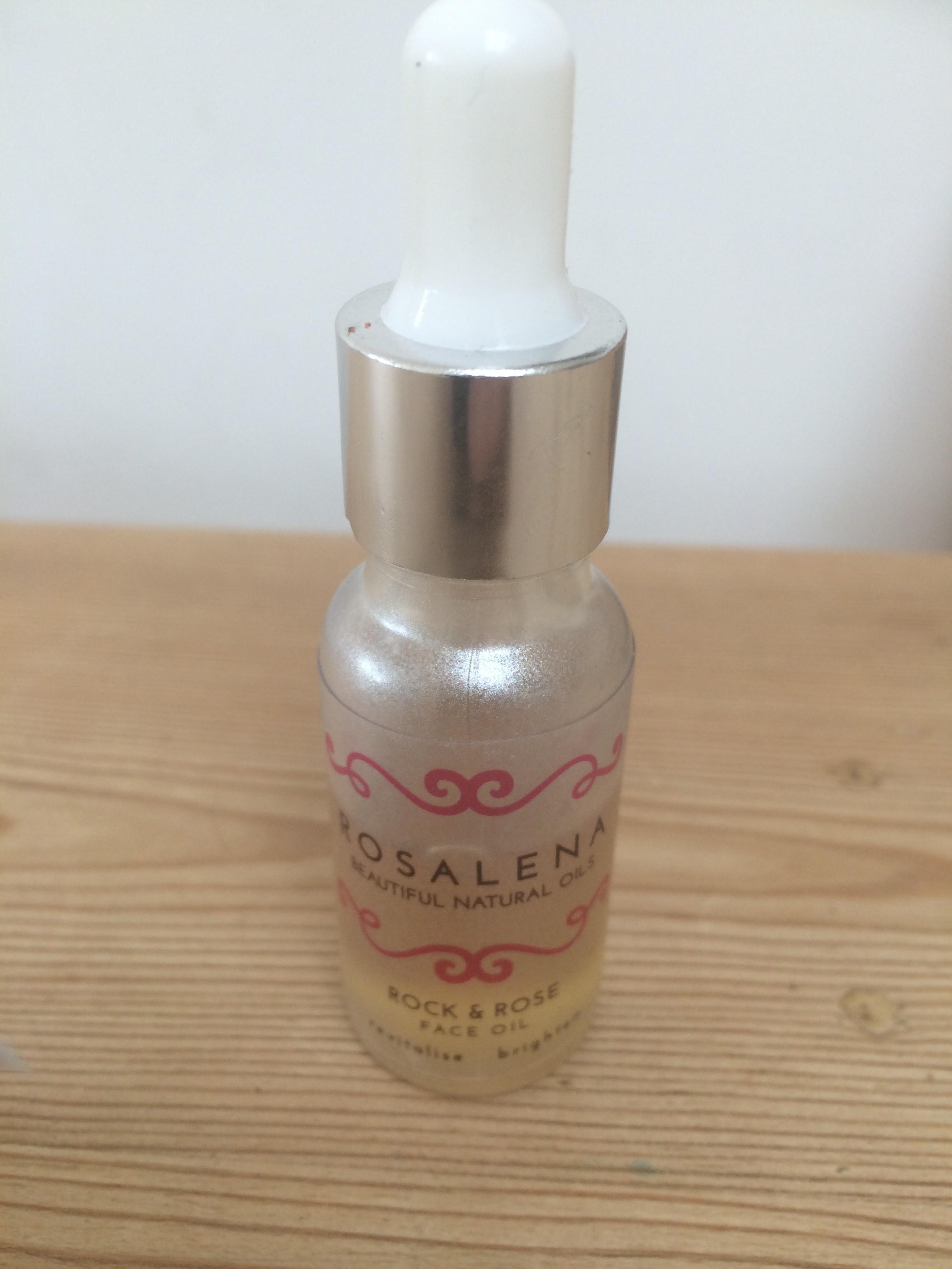 facial oil, rosalena facial oil,