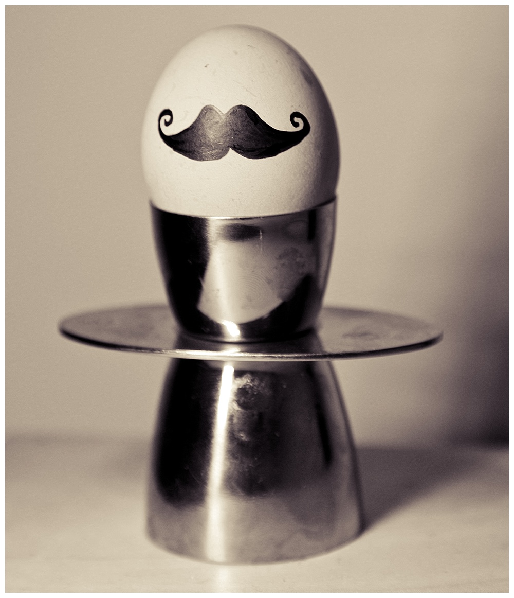 Moustaced Eggs