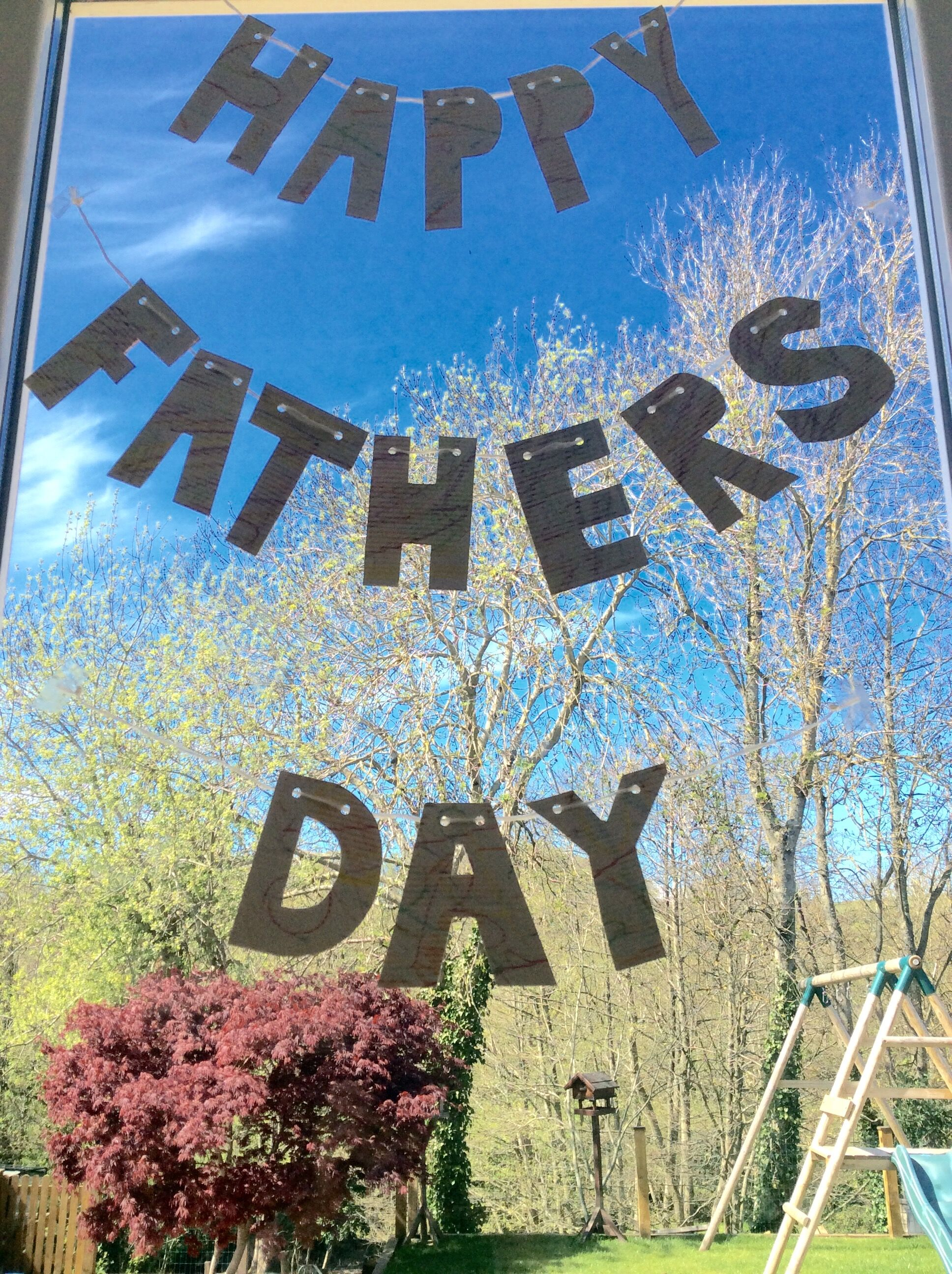 Father's Day Bunting