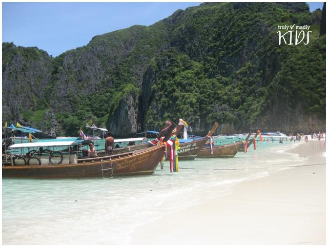 Phi Phi Island beach, Thailand