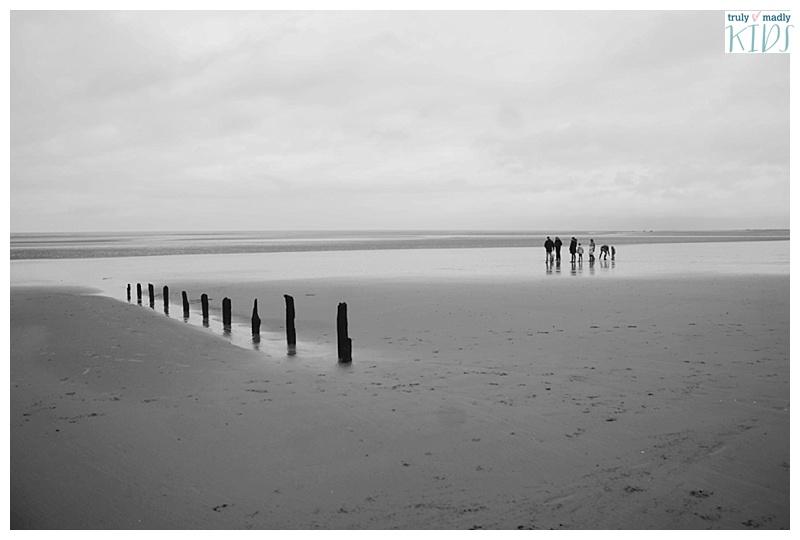 transactor beach, north norfolk coast,