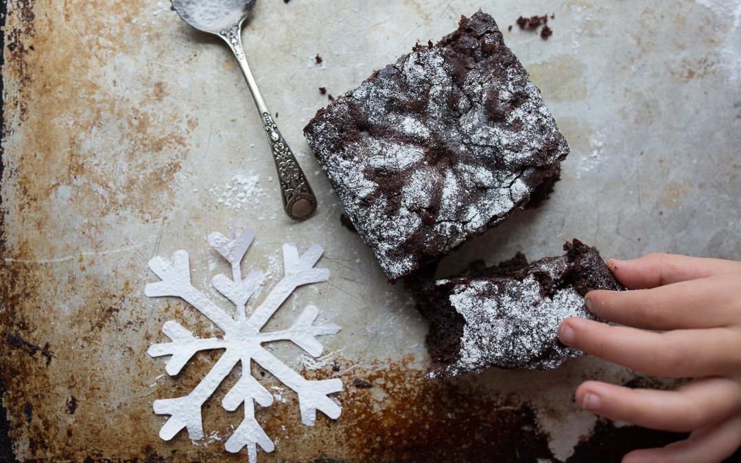 Festive Chocolate Brownie