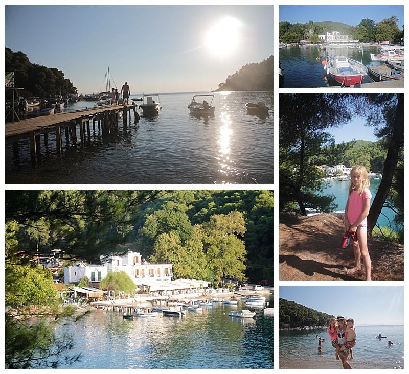 Skopelos, agnodas beach, greece with kids,