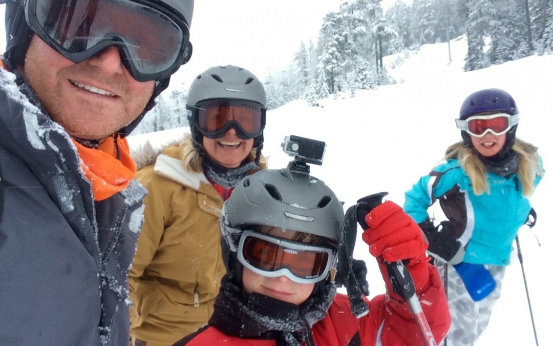 A family ski trip to Whistler