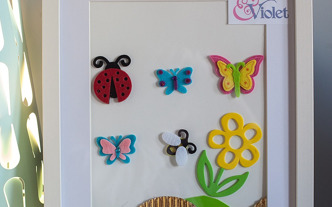 Craft – Insects can be cute.