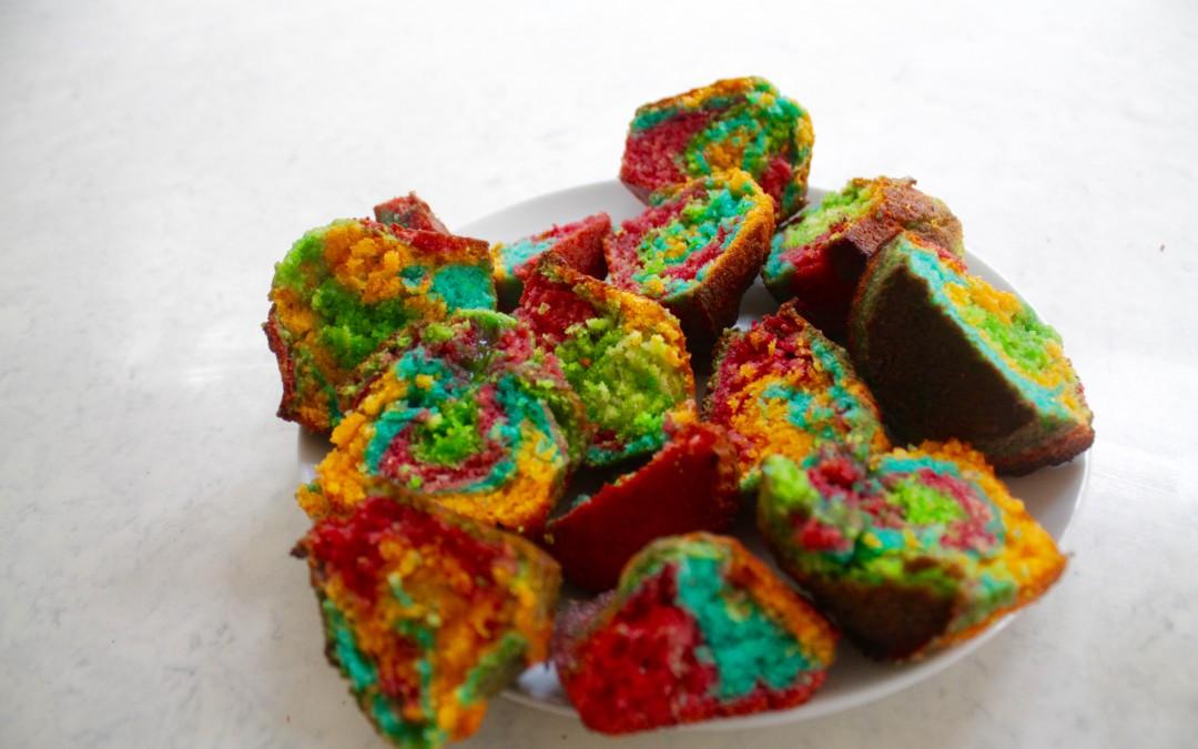 Caitlin's Rainbow CupCakes