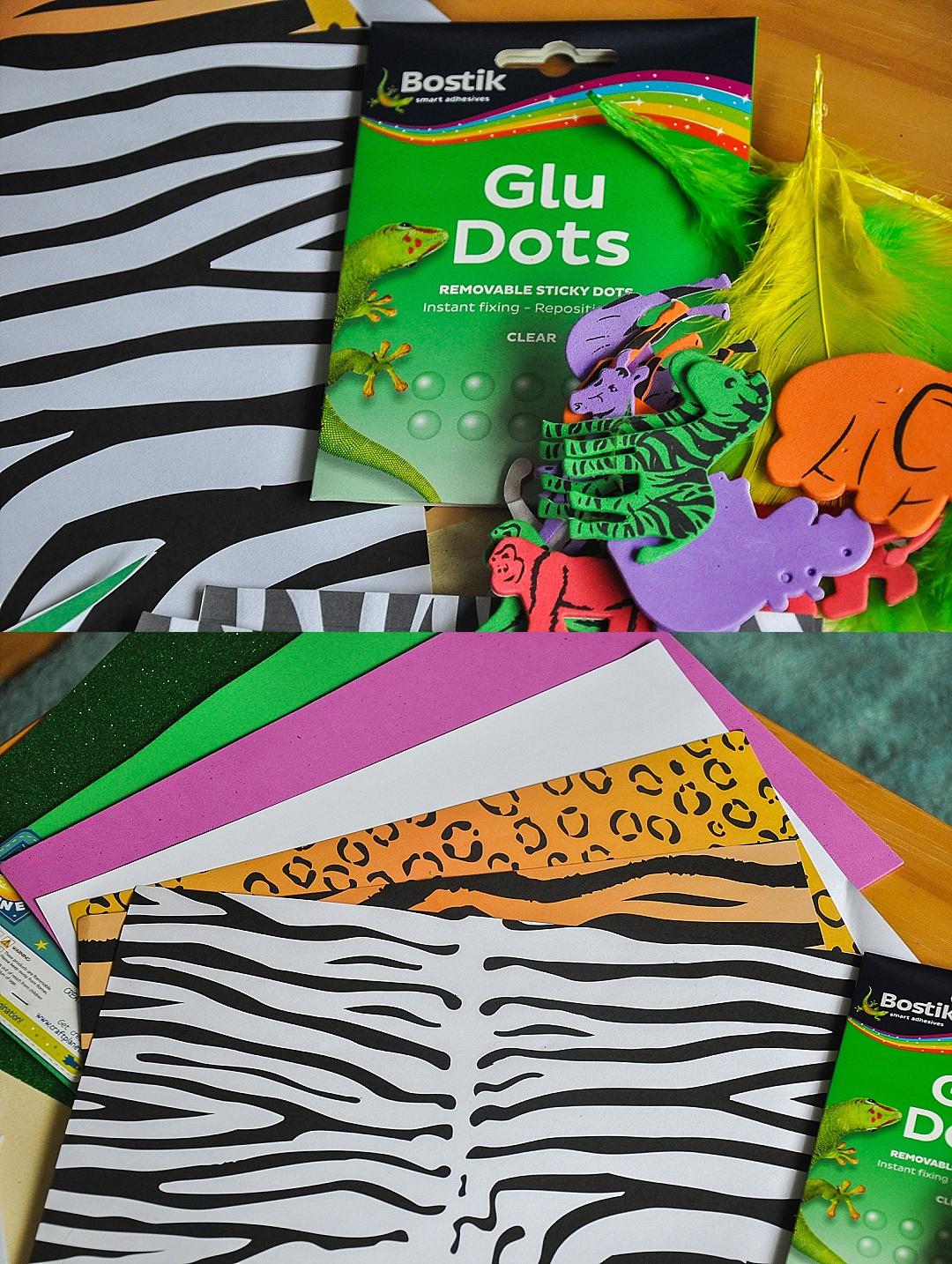Jungle themed birthday invite