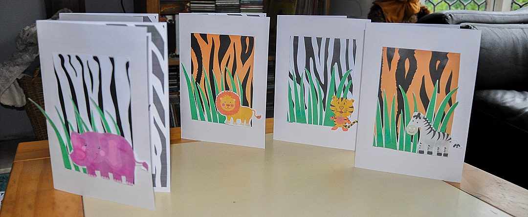 Jungle Themed Birthday Invites