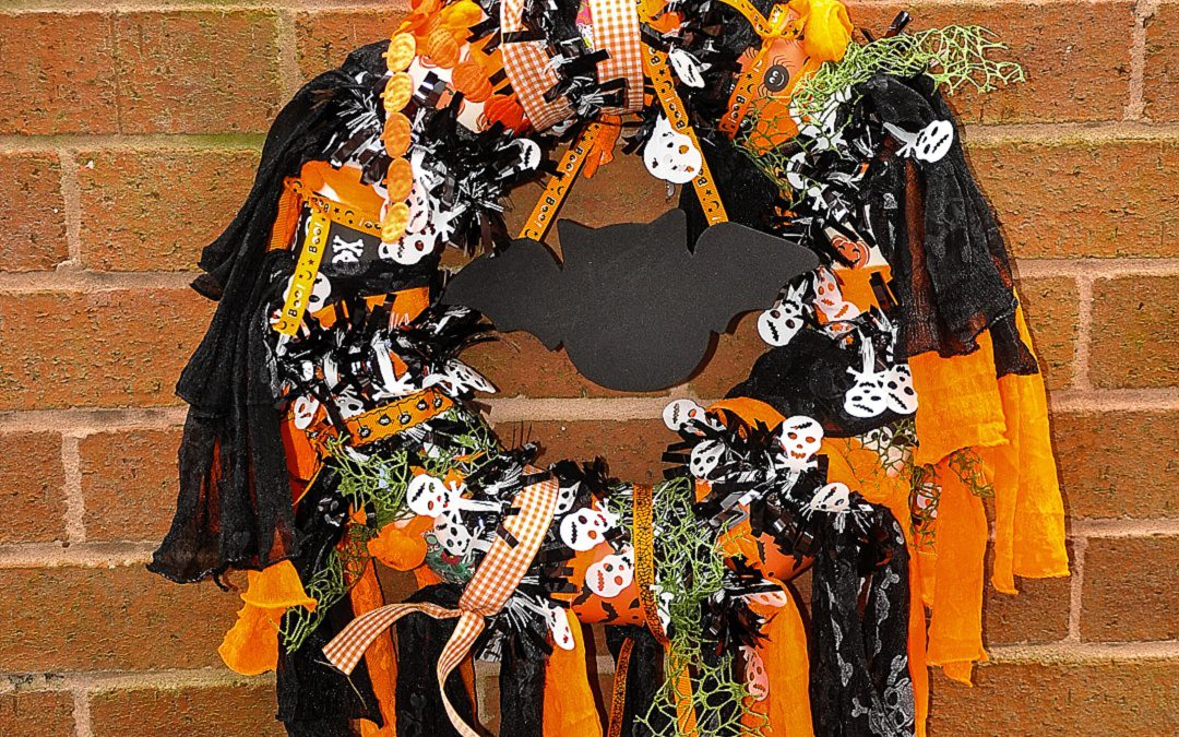 Craft – Halloween Wreath
