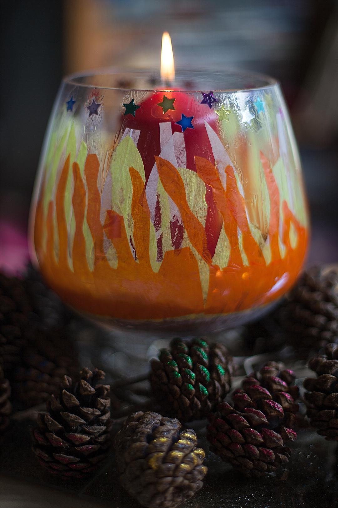 Bonfire table Centrepiece