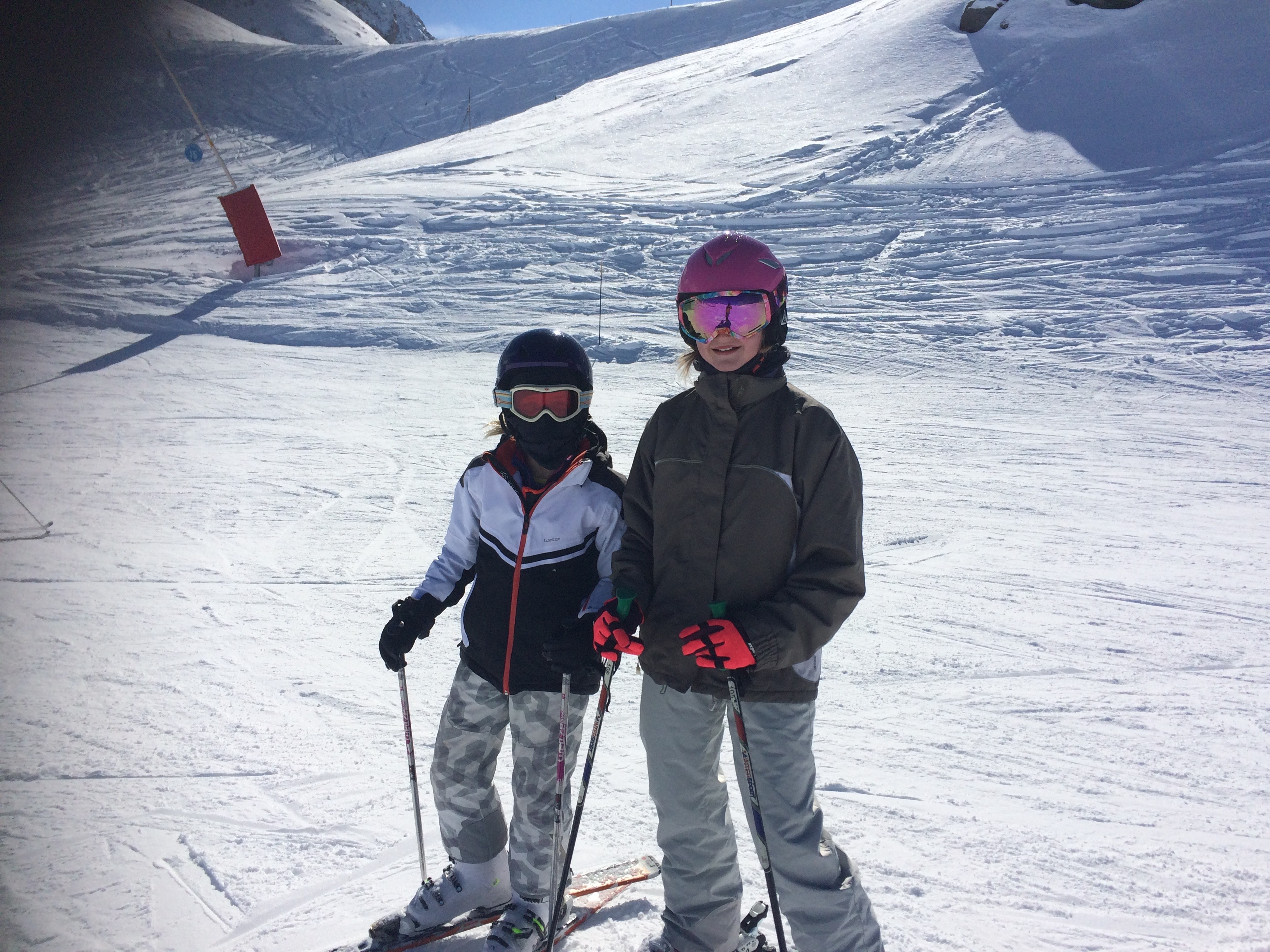 half term skiing holiday to les arcs