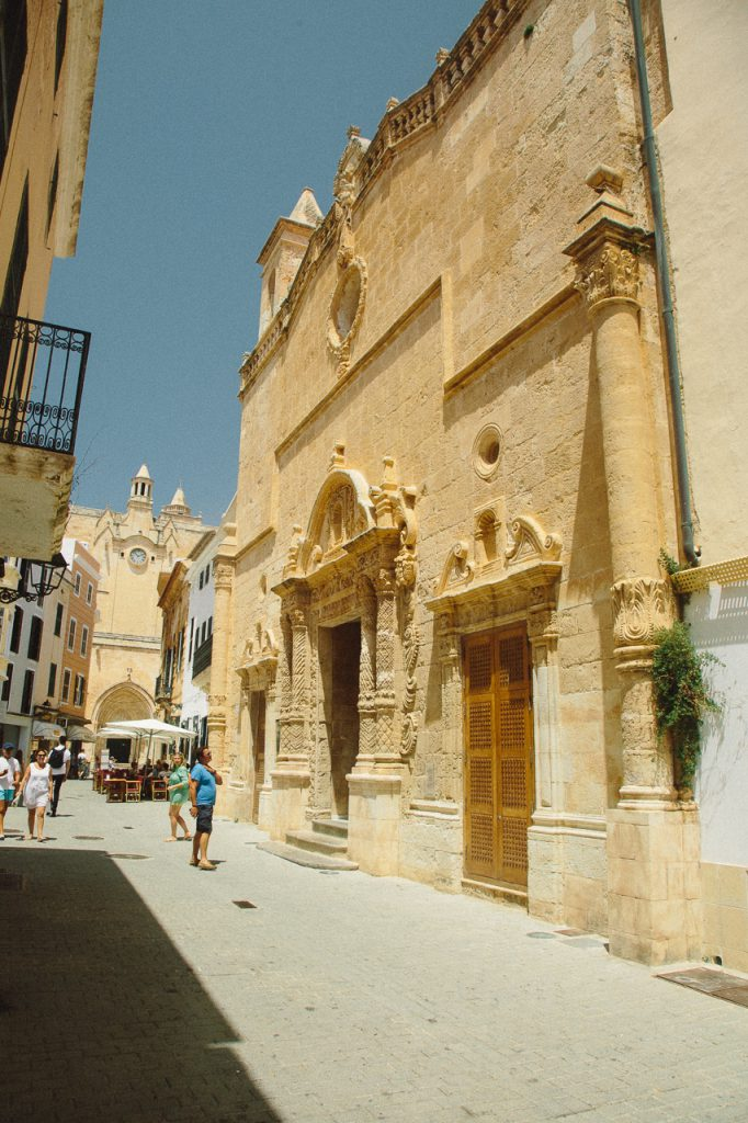 Old streets Cuitadella Menorca