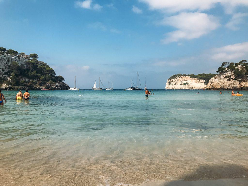 Cala Galdan beach menorca