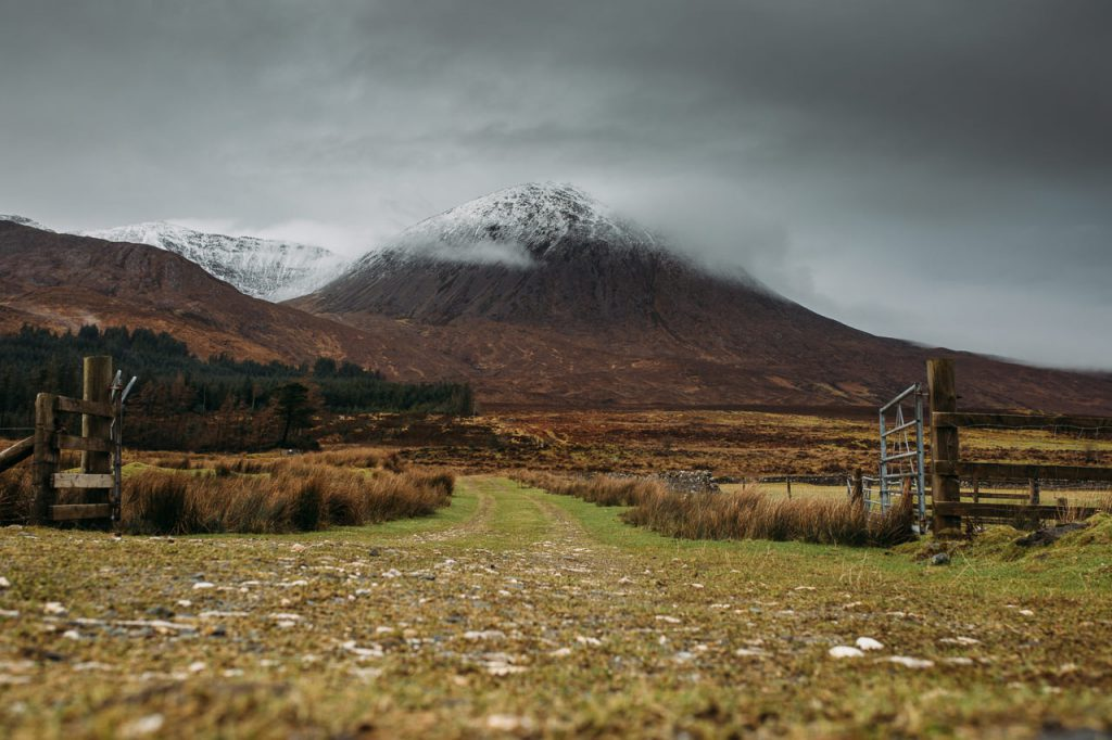 Beinn na Caillich Isle of Skye from Swordale