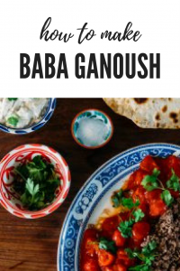 baba ganoush, produce from the isle of Skye,