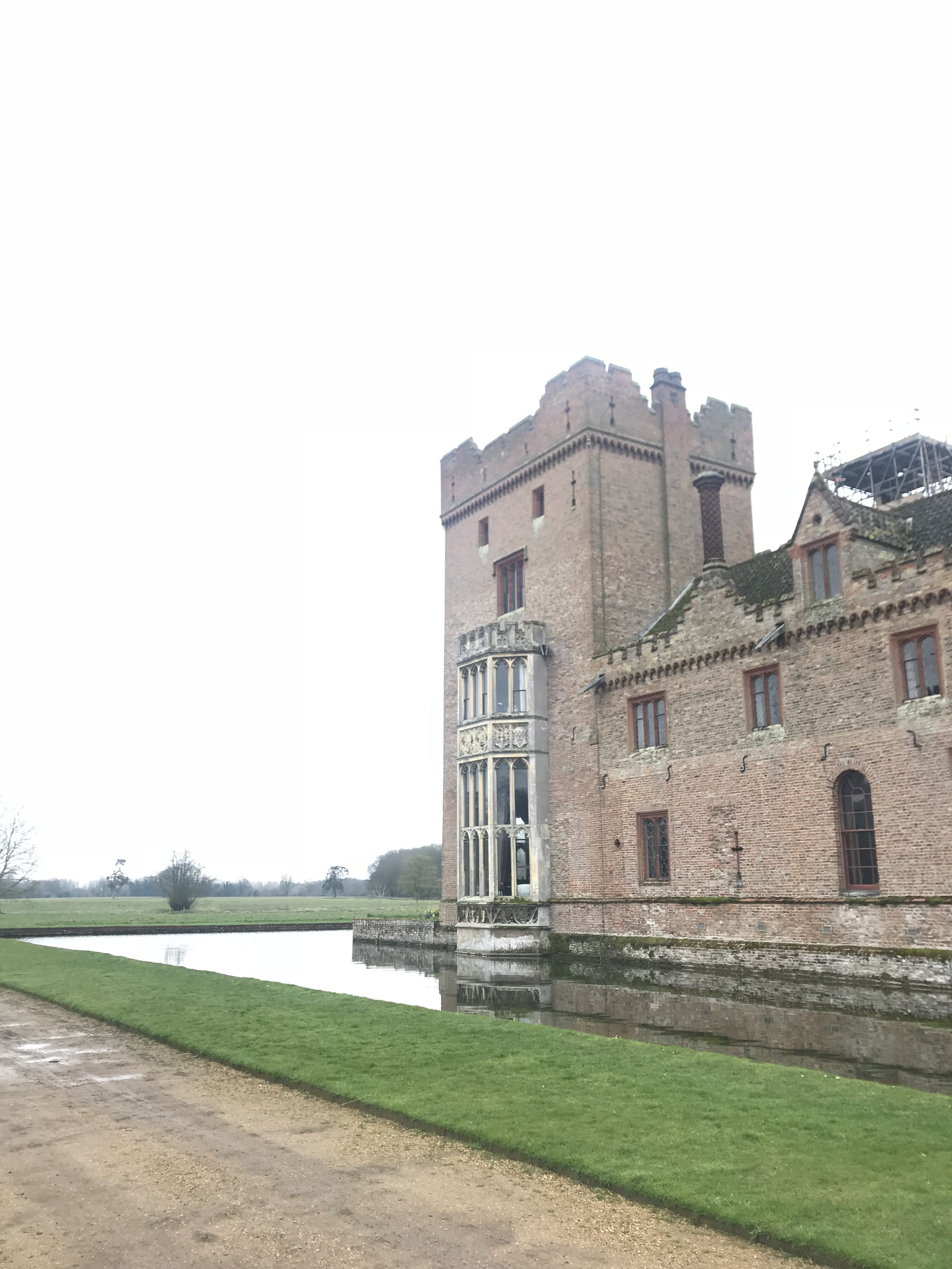 oxburgh hall, north Norfolk