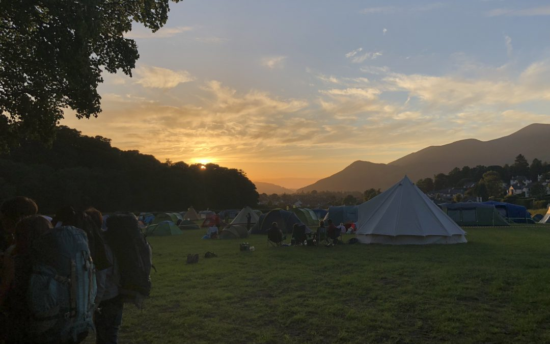 Camping at the Keswick Mountain Festival