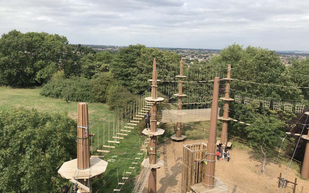 Exploring London: Go Ape, Alexandra Palace