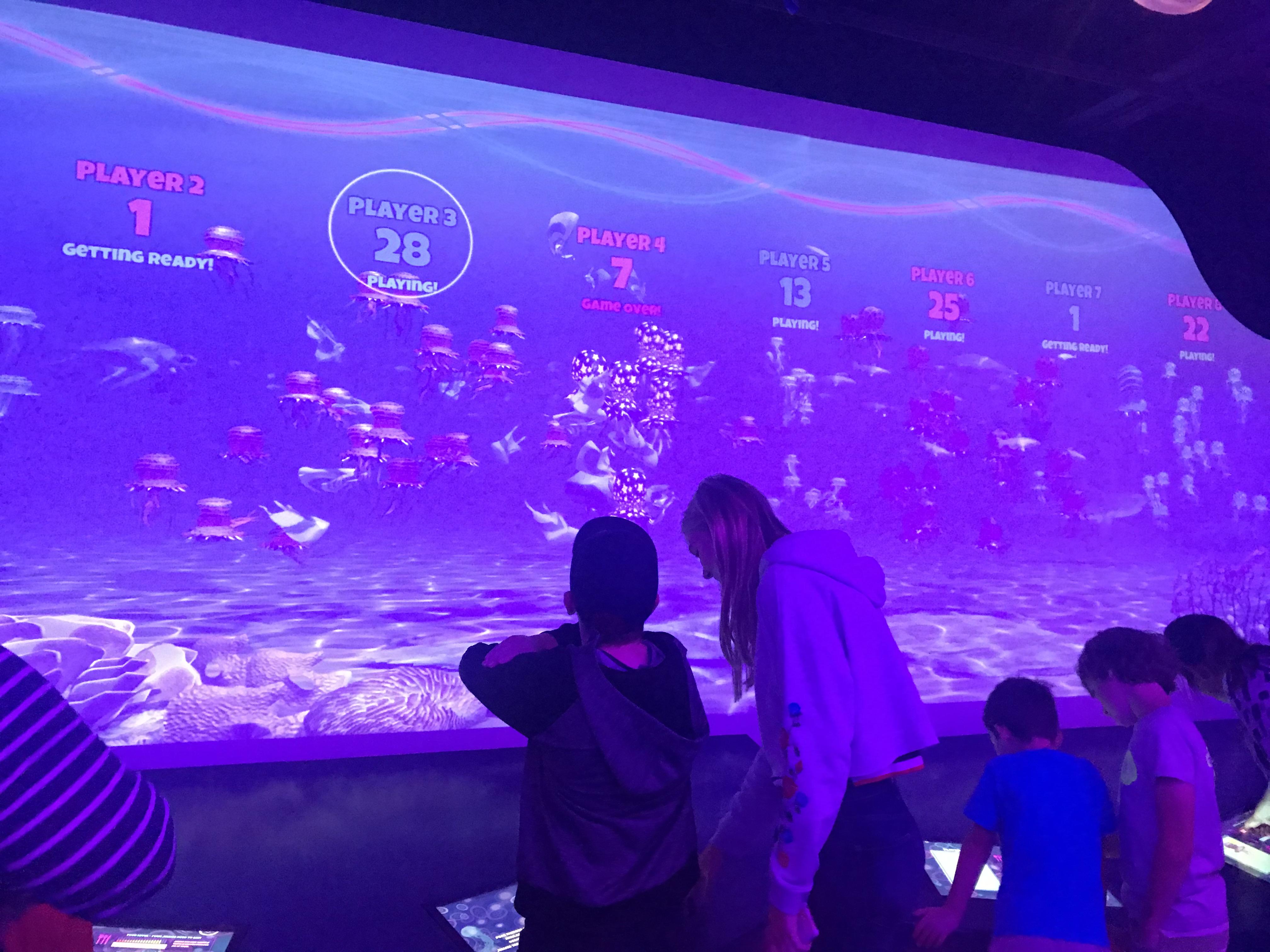 sea life london, jelly fish room