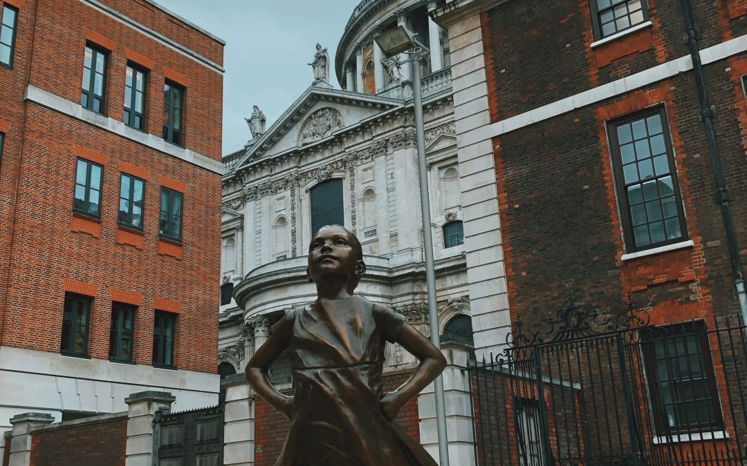 The Fearless Girl, Paternoster Square