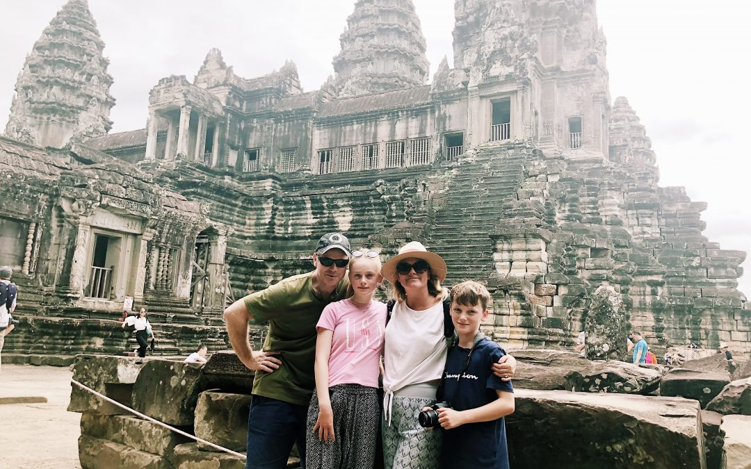 3 days in Siem Reap with children