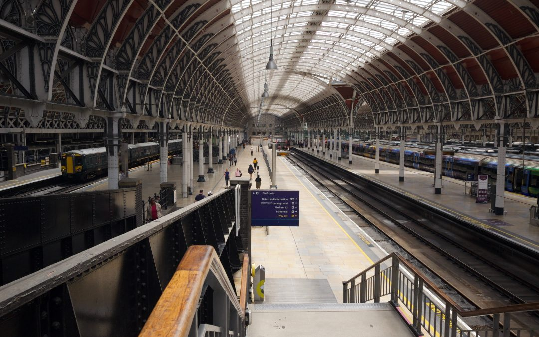 5 train journeys from London