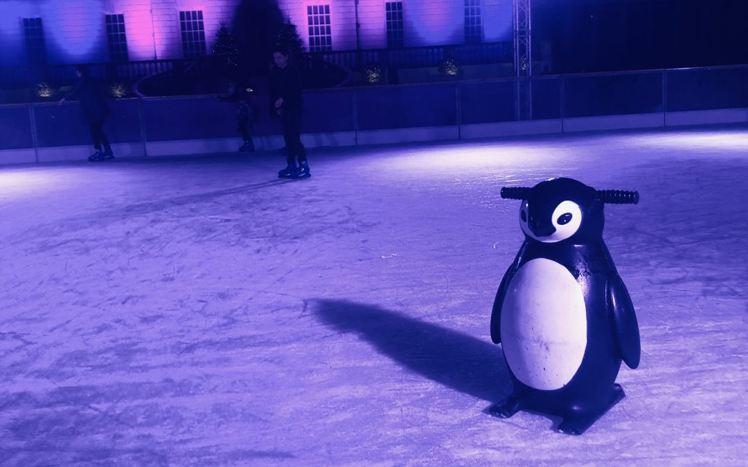 Exploring London: Queen's House Ice Rink, Greenwich