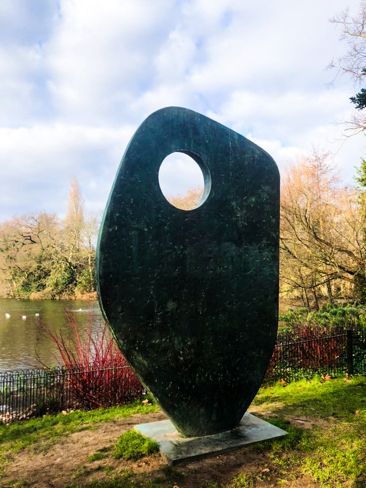 sculpture in Battersea park